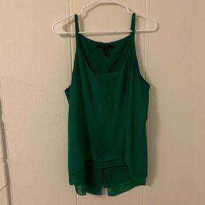 BCBGMaxAzria Green Blouse Size Large